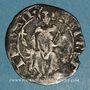 Coins Principauté d'Orange. Raymond V (1340-1393). Demi-carlin