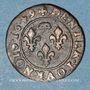 Coins Principauté de Dombes. Gaston d'Orléans (1627-50). Denier tournois 1649. Variante inédite !