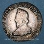 Coins Principauté de Dombes. Henri II de Montpensier (1592-1608). Teston 1606