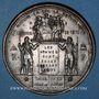 Coins Guerre de 1870-1871. 108 bataillons du général Cl. Thomas vont livrer bataille. Médaille.  48,2 mm