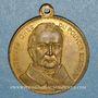 Coins Guerre de 1870-1871. A. Thiers. Médaille bronze