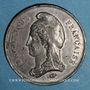 Coins Guerre de 1870-1871. Bataille de Vermans et St Quentin. 19 janvier 1871. Médaille en étain