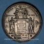 Coins Guerre de 1870-1871. Bonvalet organise 85 brancardiers. Médaille. 48 mm