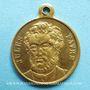 Coins Guerre de 1870-1871. J. Favre, élu à l'Assemblée Nationale. Médaille cuivre jaune. 23,4 mm