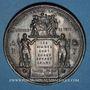 Coins Guerre de 1870-1871. Les subsistances alimentaires. Réunion des 20 maires de Paris. Médaille. 48,1mm