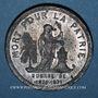 Coins Guerre de 1870-1871. Mort du colonel A. Prévault. Médaille étain. 37,2 mm