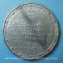 Coins Révolution de 1848. Candidatures à la présidence. Médaille étain. 47 mm
