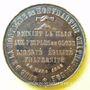 Coins Révolution de 1848. Club de la Montagne de Montmartre. Médaille cuivre. 33,9 mm