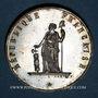 Coins Révolution de 1848. Club de la Montagne de Montmartre. Médaille cuivre argenté. 33,9 mm