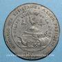 Coins Révolution de 1848. Clubs du Nord et du Pas de Calais. Médaille étain. 45 mm