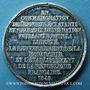Coins Révolution de 1848. Commémoration des journées de février. Médaille étain. 22 mm
