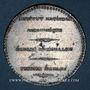 Coins Révolution de 1848. Décret sur l'agriculture. Médaille plomb étain. 42 mm