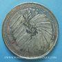Coins Révolution de 1848. Election du président. Médaille étain. 44 mm
