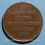 Coins Révolution de 1848. Elections du département de la Seine. Médaille cuivre. 26 mm