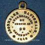 Coins Révolution de 1848. Elections du département de la Seine. Médaille cuivre jaune. 24 mm