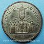 Coins Révolution de 1848. Fête de la Concorde. Médaille cuivre blanchi. 27,8 mm