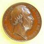 Coins Révolution de 1848. Formation du gouvernement provisoire. Ledru-Rollin. Médaille cuivre. 26,3 mm
