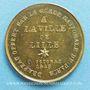 Coins Révolution de 1848. Fraternisation des gardes nationales. Médaille cuivre jaune. 24 mm