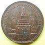 Coins Révolution de 1848. Funérailles des victimes de juin. Médaille cuivre rouge. 27 mm