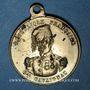 Coins Révolution de 1848. Le général Cavaignac. Médaille cuivre jaune. 23,6 mm