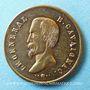 Coins Révolution de 1848. Le général Cavaignac. Médaille cuivre jaune. 23 mm