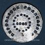 Coins Révolution de 1848. Les gardes nationaux de Lille. Médaille étain. 38 mm