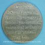 Coins Révolution de 1848. Médailles politiques. Médaille étain. 48 mm