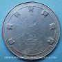 Coins Révolution de 1848. Médailles politiques. Médaille étain. 58 mm