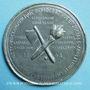 Coins Révolution de 1848. Médailles politiques. Médaille étain coulé. 68 mm