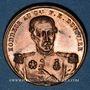 Coins Révolution de 1848. Mort du général Duvivier. Médaille cuivre. 23,8