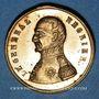 Coins Révolution de 1848. Mort du général Négrier. Médaille cuivre bronzé. 24 mm