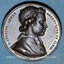 Coins Révolution de 1848. Mort Mgr Affre, archevêque. Médaille cuivre rouge. 32 mm