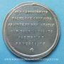 Coins Révolution de 1848. Proclamation de la République. Médaille étain. 40 mm