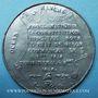 Coins Révolution de 1848. Vote de la Constitution. Médaille étain. 46 mm