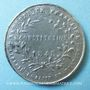 Coins Révolution de 1848. Vote de la Constitution. Médaille plomb. 35 mm