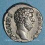 Coins Aelius, césar (136-138). Denier. Rome, 137. R/: la Concorde