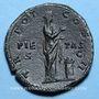 Coins Aelius, césar (136-138). Sesterce. Rome, 137. R/: la Piété
