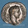 Coins Alexandre Sévère (222-235). Denier. Rome, 231. R/: la Fidélité militaire
