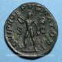 Coins Alexandre Sévère (222-235). Sesterce. Rome, 231-235. R/: Jupiter