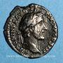 Coins Antonin le Pieux (138-161). Denier. Rome, 143. R/: Victoire