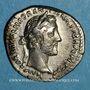 Coins Antonin le Pieux (138-161). Denier. Rome, 150-151. R/: la Paix