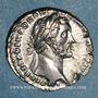Coins Antonin le Pieux (138-161). Denier. Rome, 151-152. R/: la Piété