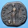 Coins Antonin le Pieux (138-161). Dupondius. Rome, 156-157. R/: la Providence