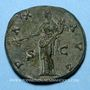 Coins Antonin le Pieux (138-161). Sesterce. Rome, 144. R/: la Paix