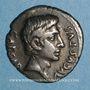 Coins Auguste (27 av. - 14 ap. J-C). Denier. Rome, 19 av. J-C