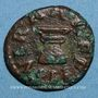 Coins Auguste (27 av. - 14 ap. J-C). Quadrans frappé par C. Naevius Capella. Rome, 4 av. J-C