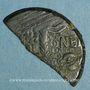 Coins Auguste et Agrippa. As (= dupondius coupé). Nîmes, 16 - 10 avant J-C
