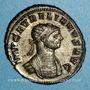 Coins Aurélien (270-275). Antoninien. Siscia, 7e officine, 274. R/: Aurélien