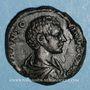 Coins Caracalla, césar sous Septime Sévère (195-198). As. Rome, 196. R/: instruments sacerdotaux
