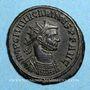 Coins Carin (283-285). Antoninien. Antioche, 2 officine, 283-284. R/: Carus & Numérien